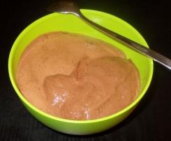 Schokoladen Dessert Low Carb ca. 40 Kcal pro Portion Schokoladen Fluff