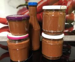Variation Rhabarber-Ketchup