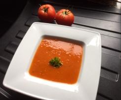 Vegane Tomatencremesuppe