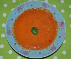 Ajvar Hack Suppe