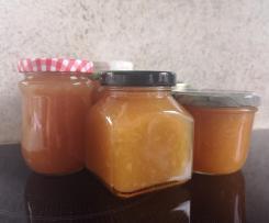 Ananas-Nektarinen Marmelade