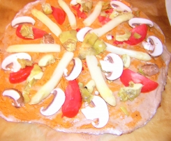 Pizzateig - dünn & knusprig