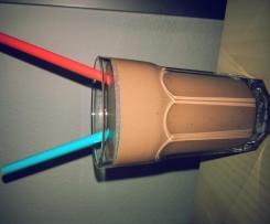Schoko-Erdnuss-Milchshake