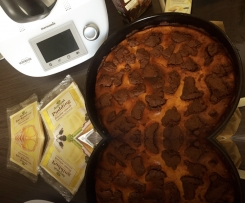 Russischer Zupfkuchen Bio-Variante weniger süß