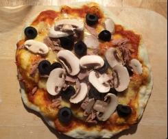 Perfekter Pizzateig