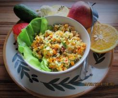 Mein Herbst-Fit-Salat (Rohkost/vegan/veget.)
