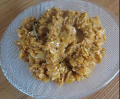 Weisskohl in Erdnuss-Sauce