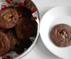 Englische Schoko-Toffee-Cookies