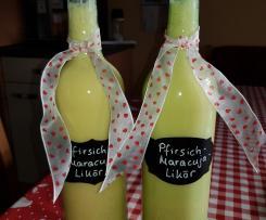 Pfirsich-Maracuja-Likör