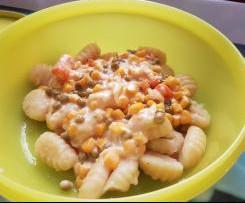 Gemüse-Sahne-Sauce