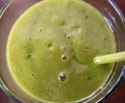 Grüner Smoothie, der 2. ;)