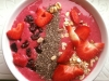 Rote Smoothie-Bowl