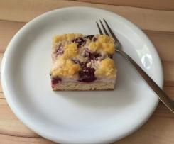 Kirsch-Streusel-Kuchen vom Blech