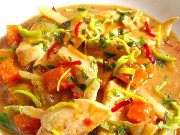 Rotes Thai Curry Von Famfuss Ein Thermomix Rezept Aus Der