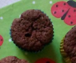 Schoko-Haselnuss-Muffins ( glutenfrei )