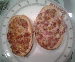 Pizzabrötchen / Pizzatoast