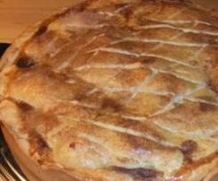 Apfelkuchen à la Jamie Oliver apple pie