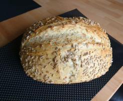 Möhren-Sonnenblumen-Brot