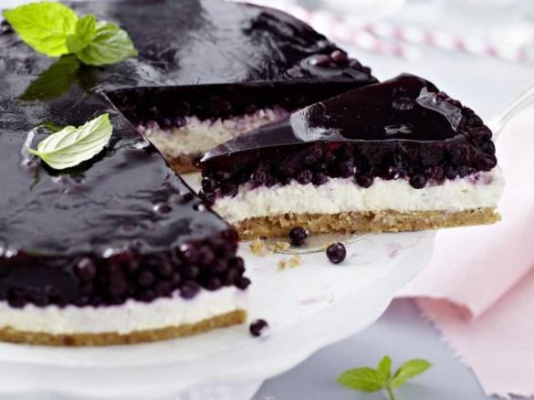 Blaubeer Mascarpone Torte Von Thermomix Rezeptentwicklung Ein