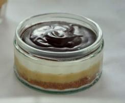 Banaofee-Dessert mit Schokolade