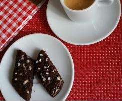 Schwedische Schokoladenstreifen - blitzschnell