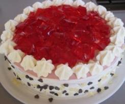 Wackelpudding-Torte