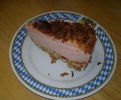 Leberkäs-Torte