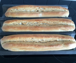 Baguette mit Backmalz