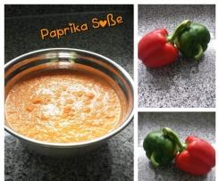 Paprika Soße schnell und einfach