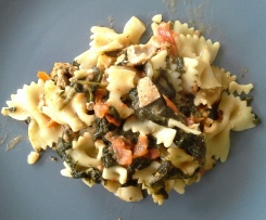 Lachs - Spinat - Pasta alla WW (Sattmacher)