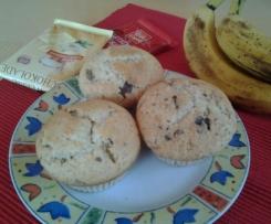 Bananen Schoko Muffins amerikanisch