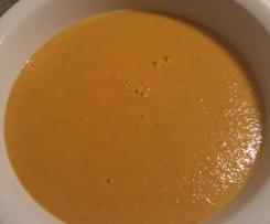 Kürbissuppe (ohne Kartoffeln)