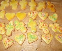 Weihnachtsplätzchen - Butterplätzchen