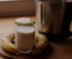 Bananen-Honig -Milch