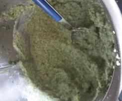 Knoblauchpaste mit Zwiebeln