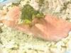 Lachsfilet mit Sauerampfersauce