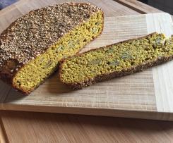 Eiweiß-Kurkuma-Brot LOW CARB