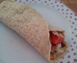 Tortilla / Wrap - schnell, einfach, zum Ausbacken in der Pfanne