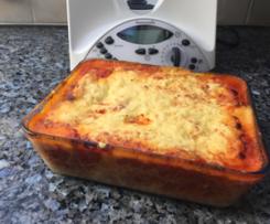 Variation weltbeste Lasagne