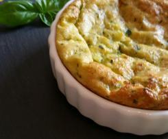 Zucchini-Kartoffel-Tarte ohne Boden