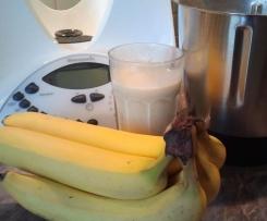 Bananenshake mit Vanilleeis