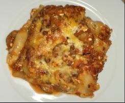 Leichte vegetarische Lasagne WW Smartpoints