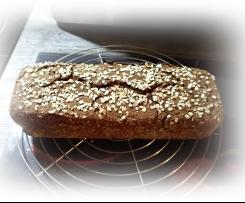 Dunkles Körner Brot (Schwarzbrot)