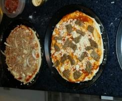 Pizzateig, 6  Runde schön knusprige