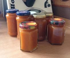 Rhabarber Karotten Marmelade