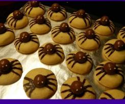 Halloween Spinnenkekse