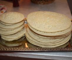 Dinkel-Baghrir (1001 Löcher Pfannkuchen)