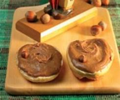 Minze-Variation von Nuss-Schokoladen-Aufstrich
