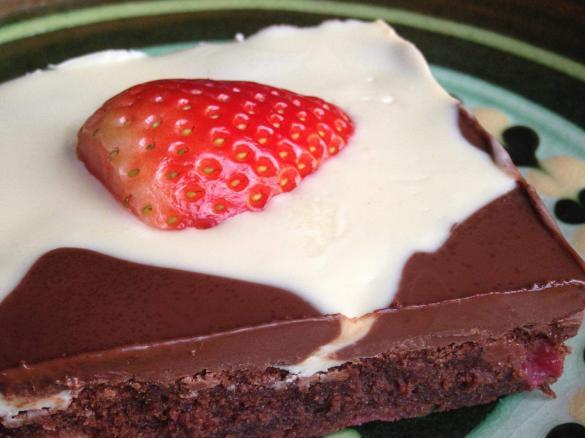 Schoko Erdbeer Kuchen Von Katothermo Ein Thermomix Rezept Aus Der