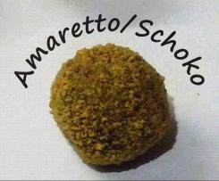 Amaretto-Schoko Kugeln / Pralinen